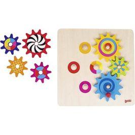 Goki roztoč mě - hra s ozubenými kolečky, 8 dílů