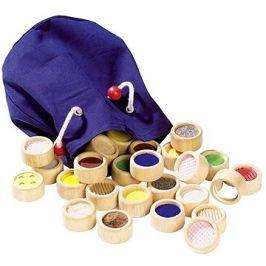 Goki hmatová hra II – různé povrchy v bavlněném pytlíku