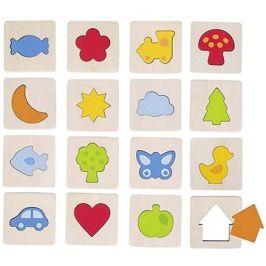 Goki hmatová hra - poznej tvar v rámečku