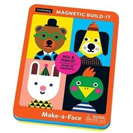 Magnetická krabička - Vytvoř obličej