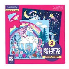 Magnetické puzzle - Jednorožce