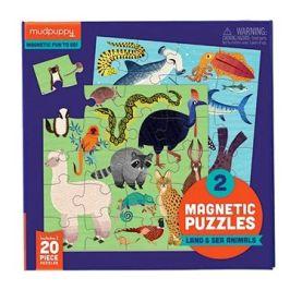 Magnetické puzzle - Zvířata