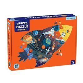 Tvarované puzzle - Vesmír (300 ks)