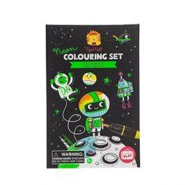 Neon Colouring Sets / Vesmír