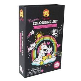 Neon Colouring Sets / Jednorožec a přátelé