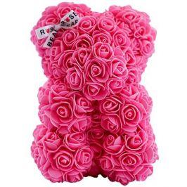 Rose Bear Růžový medvídek z růží 25 cm