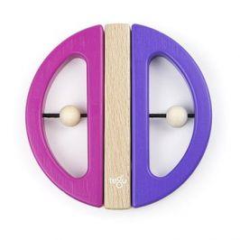 Magnetická hračka TEGU - Swivel Bug - Pink Purple