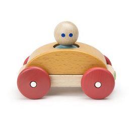 Magnetické autíčko TEGU - Orange Racer