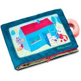 Lilliputiens - textilní knížka - Neposlušná kůzlátka