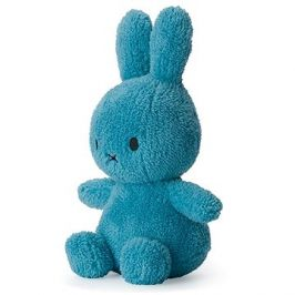 Miffy Sitting Terry Ocean Blue 23cm