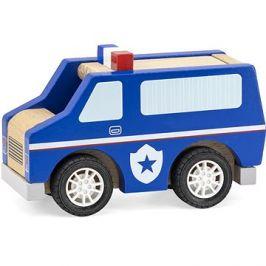 Dřevěné policejní auto