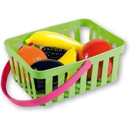 Androni Nákupní košík s ovocem - 6 kusů, zelený