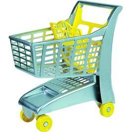 Androni Nákupní vozík se sedátkem - šedý