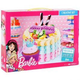 Barbie - Barevná modelína - Narozeninový dort