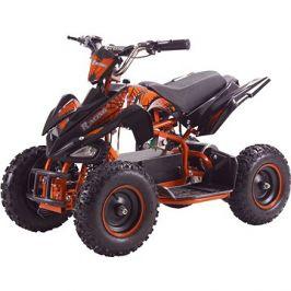 Buddy Toy BEA 821 Čtyřkolka Racing 800W - oranžová