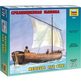 Model Kit loď 9033 - Medieval Life Boat