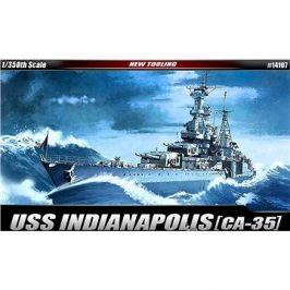Model Kit loď 14107 - USS CA-35 Indianapolis
