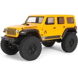 Axial SCX24 Jeep Wrangler JLU CRC 2019 1:24 4WD RT žlutá