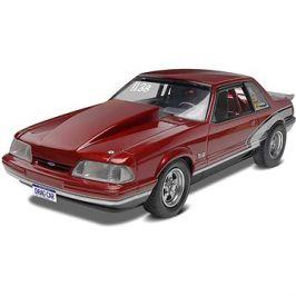 Plastic ModelKit Monogram auto 4195 - 90 Mustang LX 5,0 Drag Racer