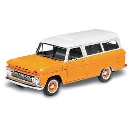 Plastic ModelKit Monogram auto 4409 -  '66 Chevy® Suburban™