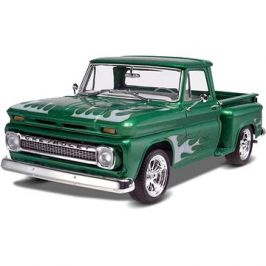 Plastic ModelKit Monogram auto 7210 -  '65 Chevy® Stepside Pickup 2 'n 1