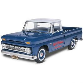 Plastic ModelKit Monogram auto 7225 -  '66 Chevy® Fleetside Pickup