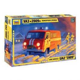 Model Kit auto 43001 - Fire service UAZ