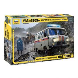 Model Kit auto 43002 - Emergency Service UAZ
