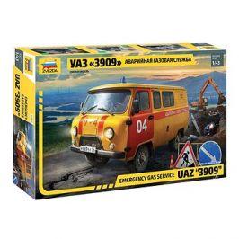 Model Kit auto 43003 - Emergency gas service UAZ