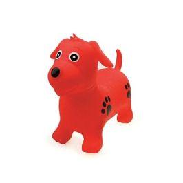 Zvířátko skákací - červený pejsek