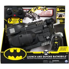 Batman RC Batmobil s figurkou a katapultem