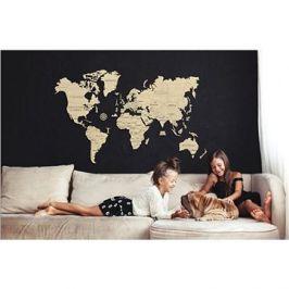 Wooden City Mapa Světa XXL
