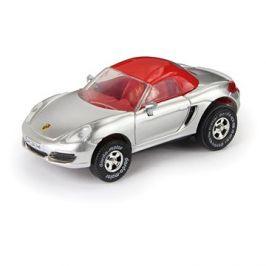 Porsche Boxster, cabrio, stříbrné