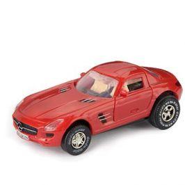 Mercedes-Benz SLS AMG, červený