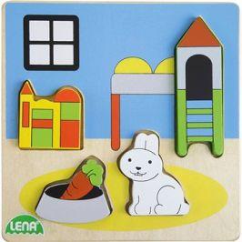 Dřevěné puizzle, dětský pokoj