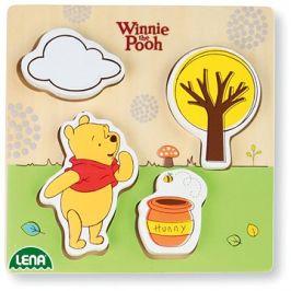 Dřevěné puzzle Winnie the Pooh, medvěd