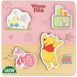 Dřevěné puzzle Winnie the Pooh, prasátko a Pooh
