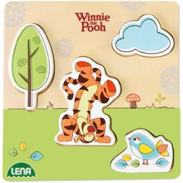 Dřevěné puzzle Winnie the Pooh, tygr