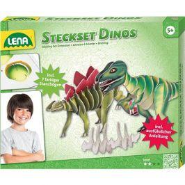 Zastrkávací sada dinosaurus