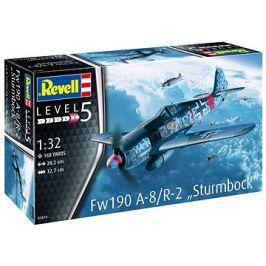 Plastic ModelKit letadlo 03874 - Fw190 A-8