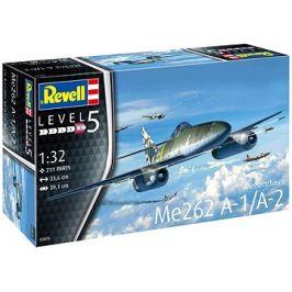 Plastic ModelKit letadlo 03875 - Me262 A-1 Jetfighter