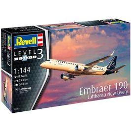 Plastic ModelKit letadlo 03883 - Embraer 190 Lufthansa New Livery