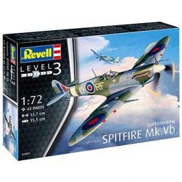 Plastic ModelKit letadlo 03897 - Supermarine Spitfire Mk. Vb