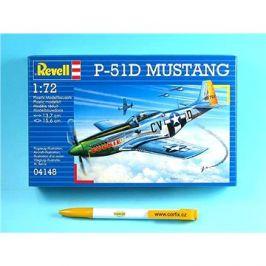 Plastic ModelKit letadlo 04148 - P-51D MUSTANG