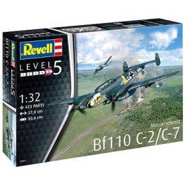Plastic ModelKit letadlo 04961 - Messerschmitt Bf110 C-2/C-7