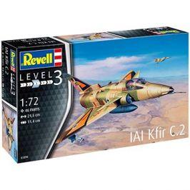 ModelSet letadlo 63890 - Kfir C-2