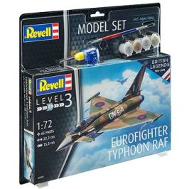 ModelSet letadlo 63900 - 100 Years RAF: Eurofighter Typhoon RAF