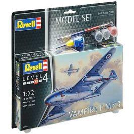 ModelSet letadlo 63934 - Vampire F Mk.3