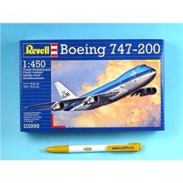 Plastic ModelKit letadlo 03999 - Boeing 747-200 Jumbo Jet