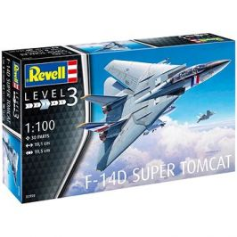 Plastic ModelKit letadlo 03950 - F-14D Super Tomcat